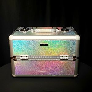 Rare Sephora Holographic Large Train Case